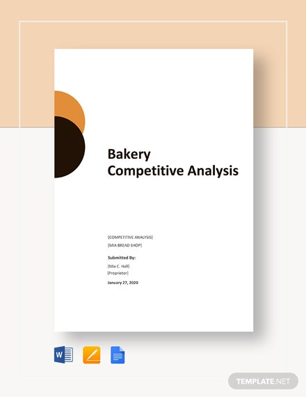 Bakery Competitive Analysis