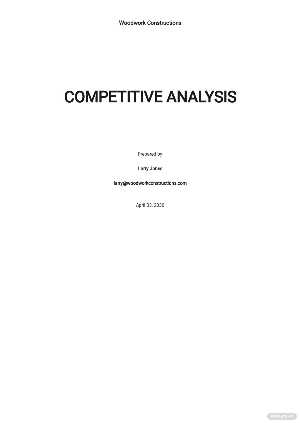 Construction Company Competitive Analysis Template.jpe