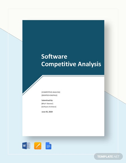 Software Competitive Analysis