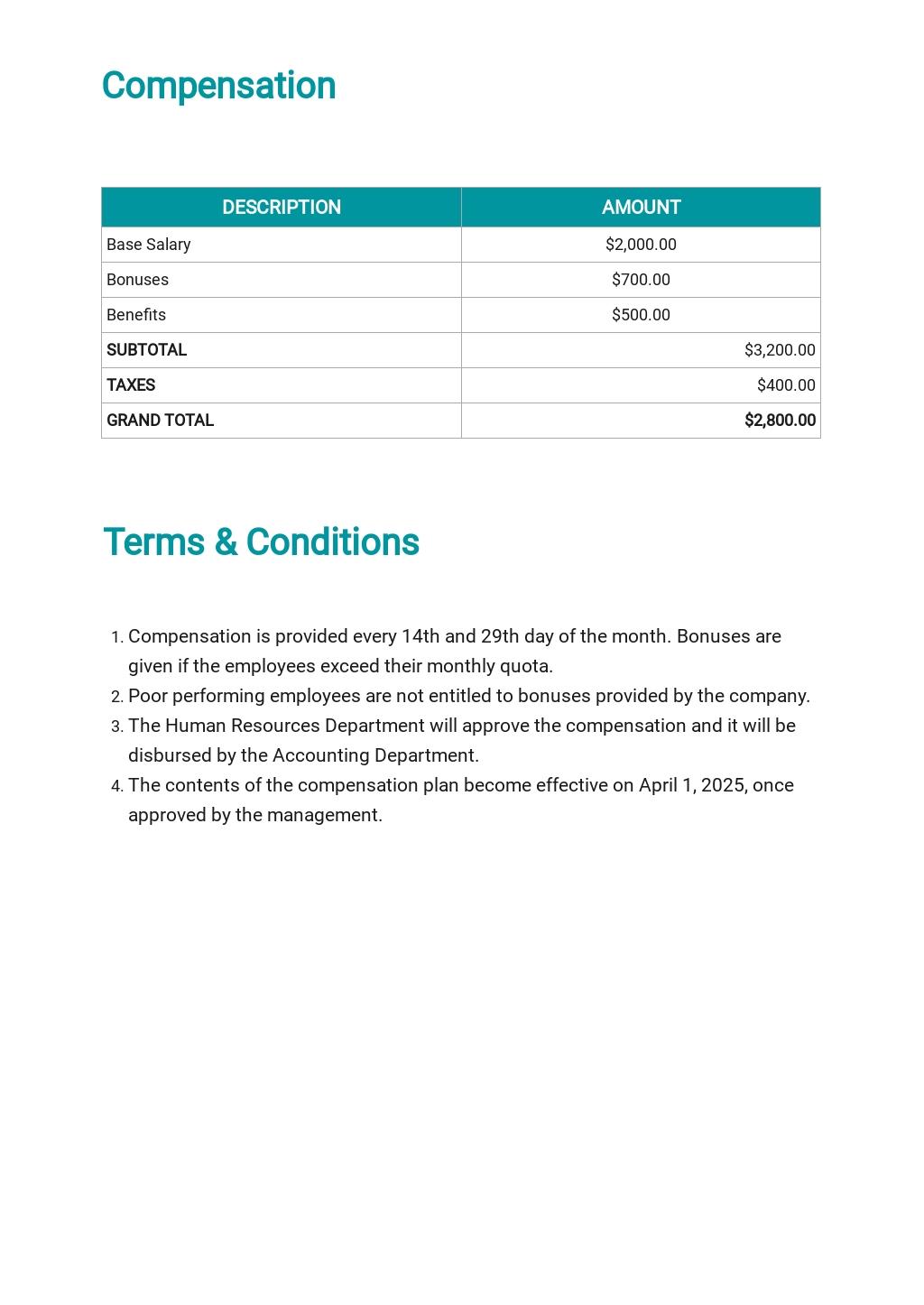 Professional Compensation Plan Template 2.jpe