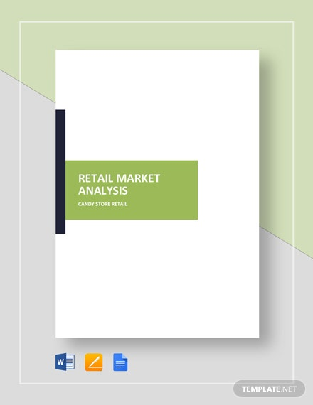 Retail Market Analysis Template