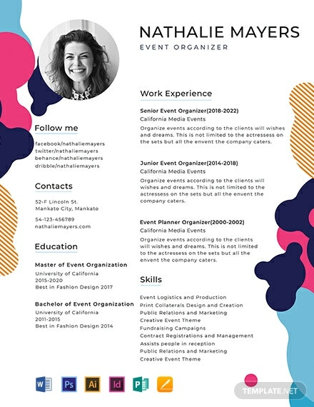 free sample resume template 440x570 1