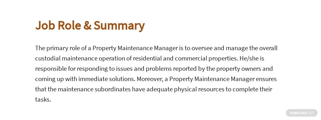 Free Property Maintenance Manager Job Ad and Description Template 2.jpe