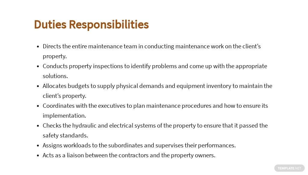 Free Property Maintenance Manager Job Ad and Description Template 3.jpe