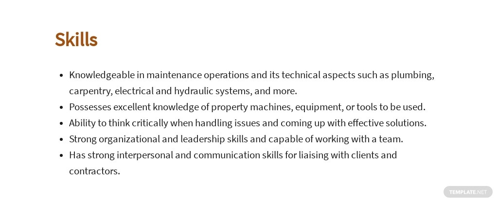 Free Property Maintenance Manager Job Ad and Description Template 4.jpe