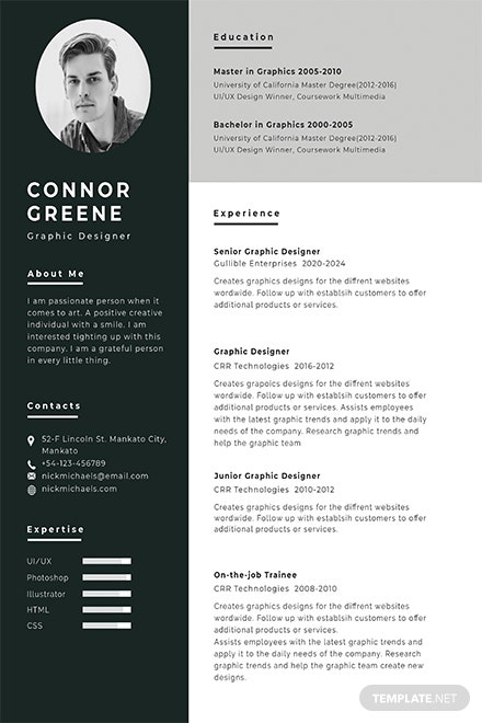Free Resume Templates Download Ready Made Template Net