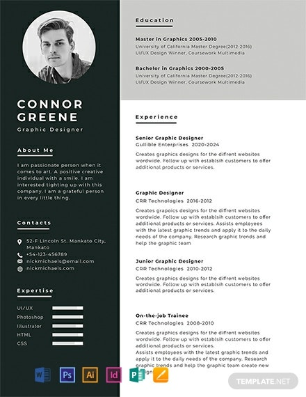 original cv template free download