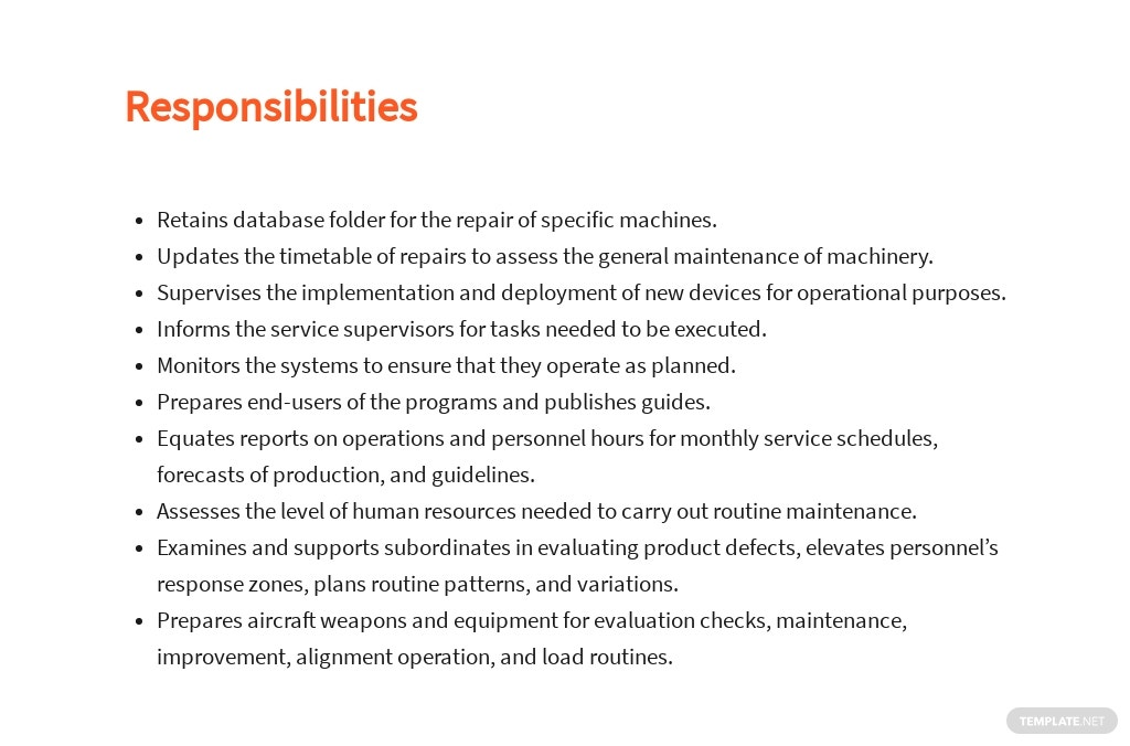 Free Maintenance Data Analyst Job Description Template 3.jpe