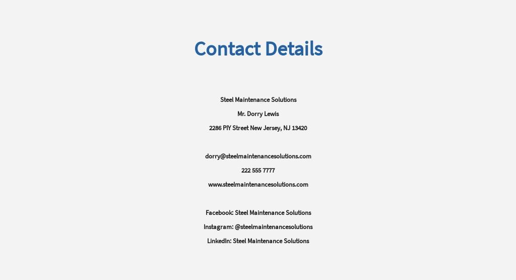 Free Maintenance Manager Job Description Template 8.jpe