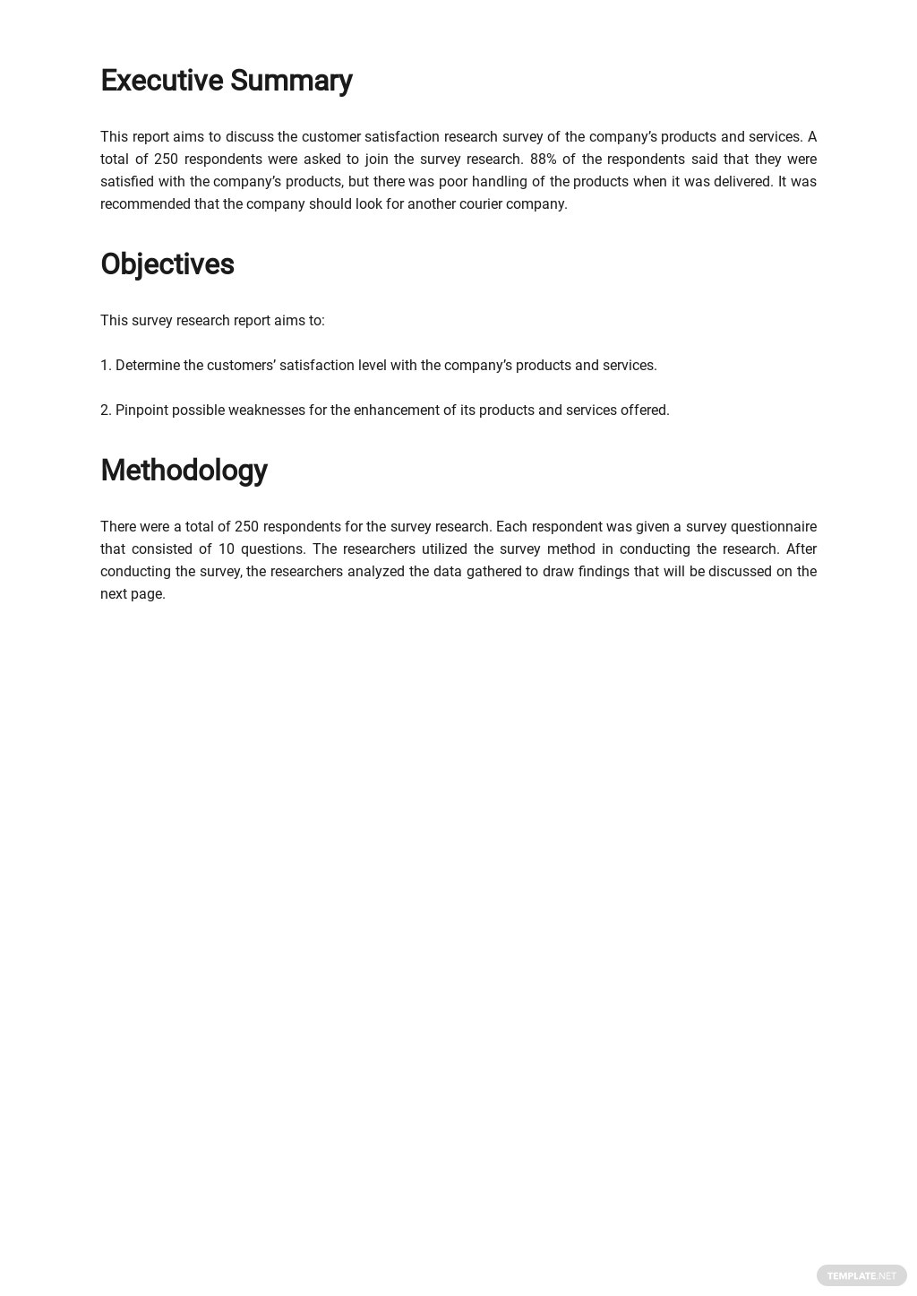Survey Research Report Template 1.jpe