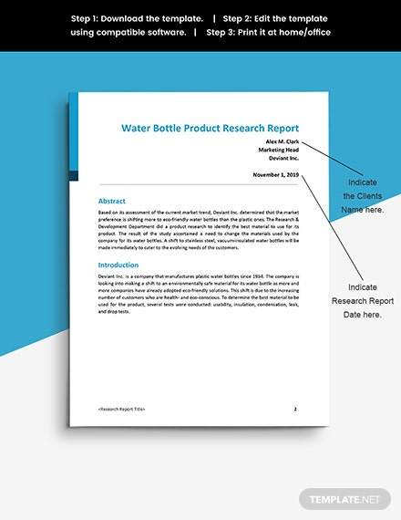 Research Progress Report Printable