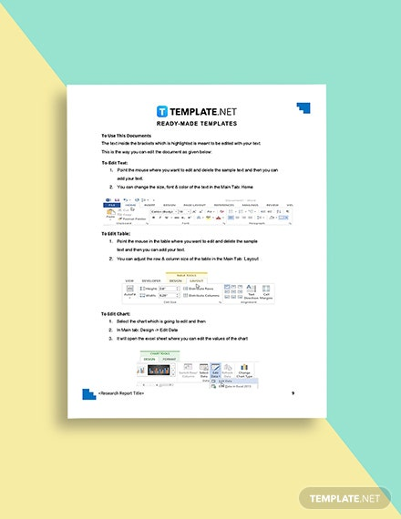 Investment Research Report Template Guide