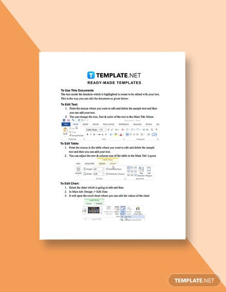 Company Research Report Template format