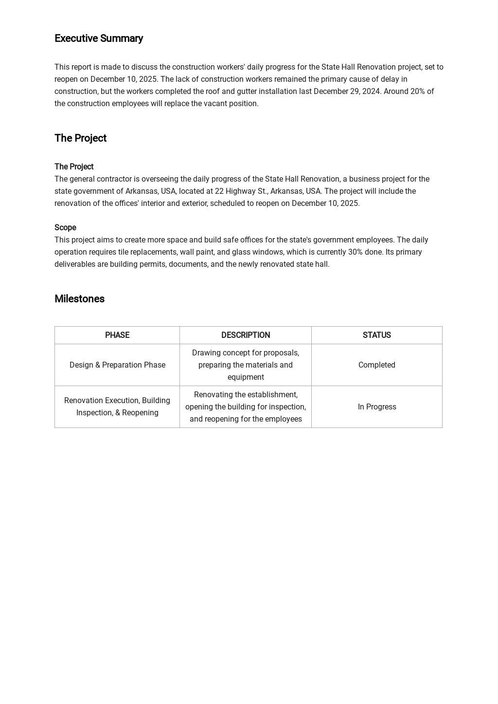 Contractor Daily Progress Report Template 1.jpe