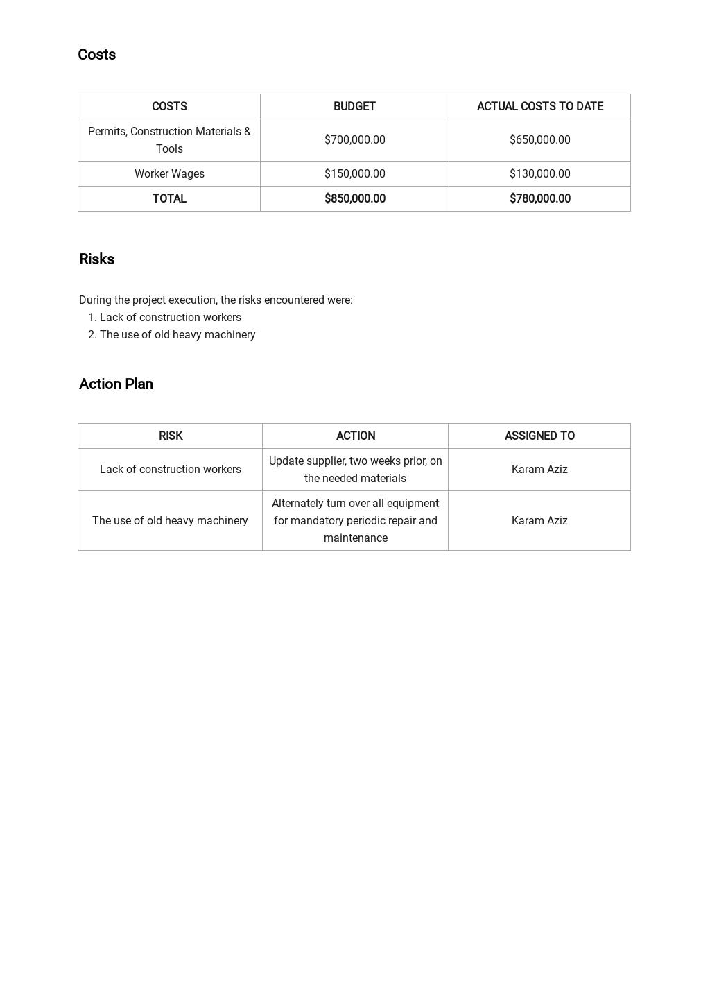 Contractor Daily Progress Report Template 2.jpe