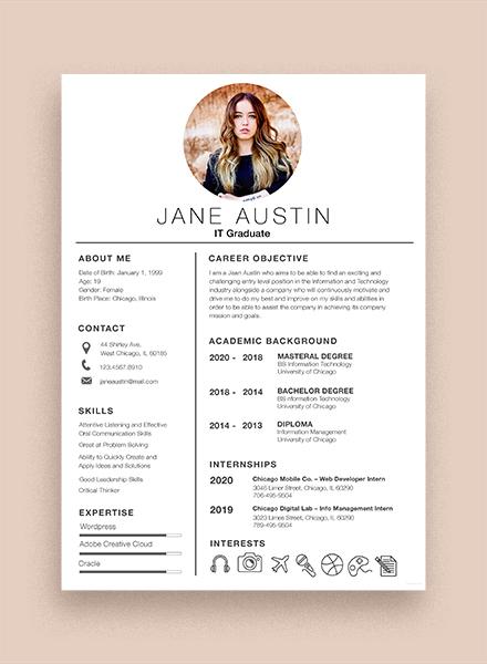 Basic Fresher Resume Template