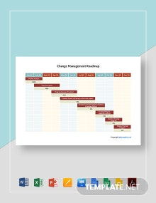 Change Management Roadmap Template