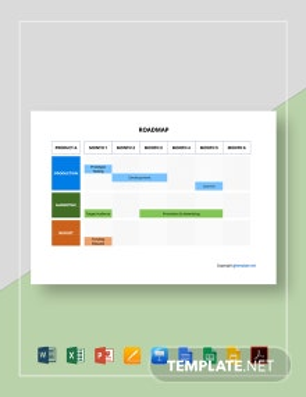Free Sample Roadmap Template