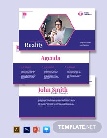 Creative Agency Presentation Template