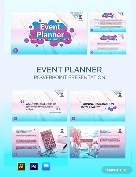 Event Planner Presentation Template
