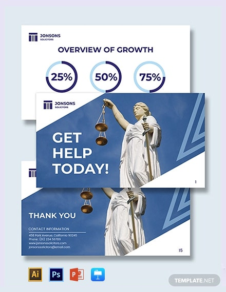 Law Firm Presentation Template