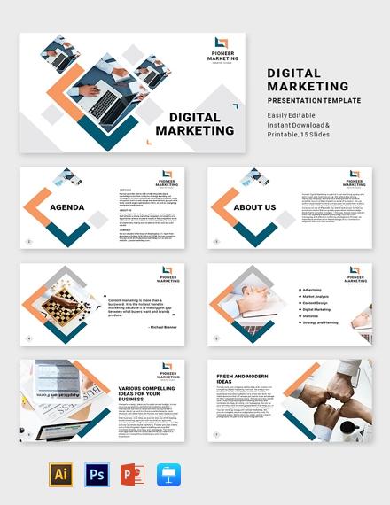 Marketing Agency Presentation Template