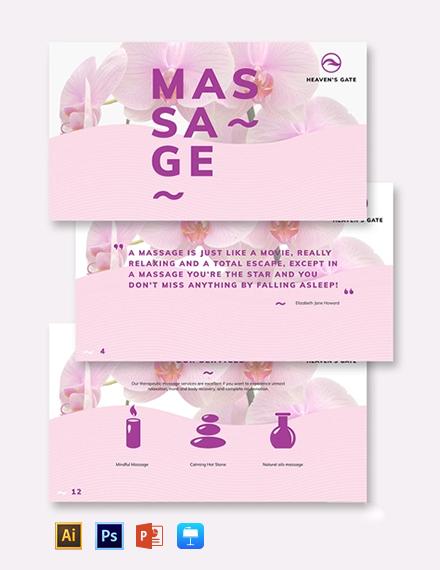 Massage Presentation Template