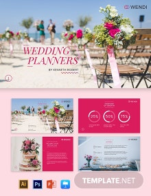 Fall Wedding Planners Presentation Template