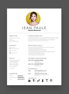 HR-Fresher-Resume-Template Basic Mechanical Diploma Resume Format on