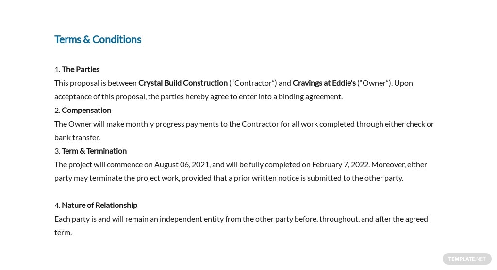 Simple Construction Job Proposal Template 6.jpe