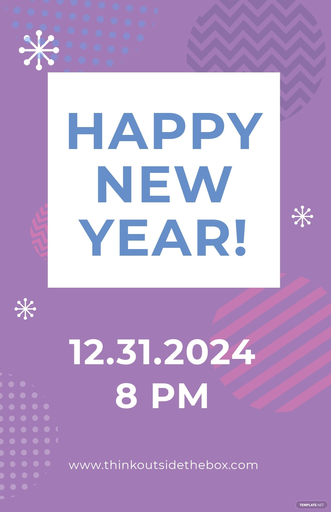 Free New Year Poster Template.jpe