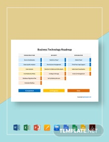 Business Technology Roadmap Template