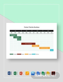 Product Timeline Roadmap Template