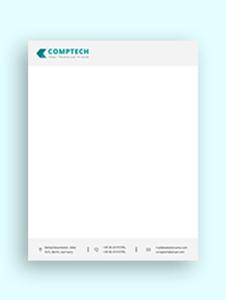 Computer Service Letterhead Template