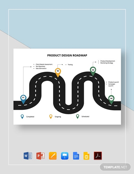 Product Design Roadmap Template