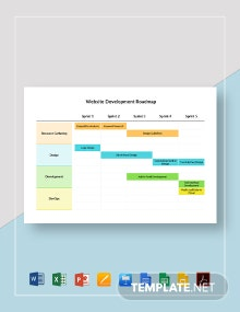 Website Development Roadmap Template