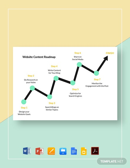 Website Content Roadmap Template