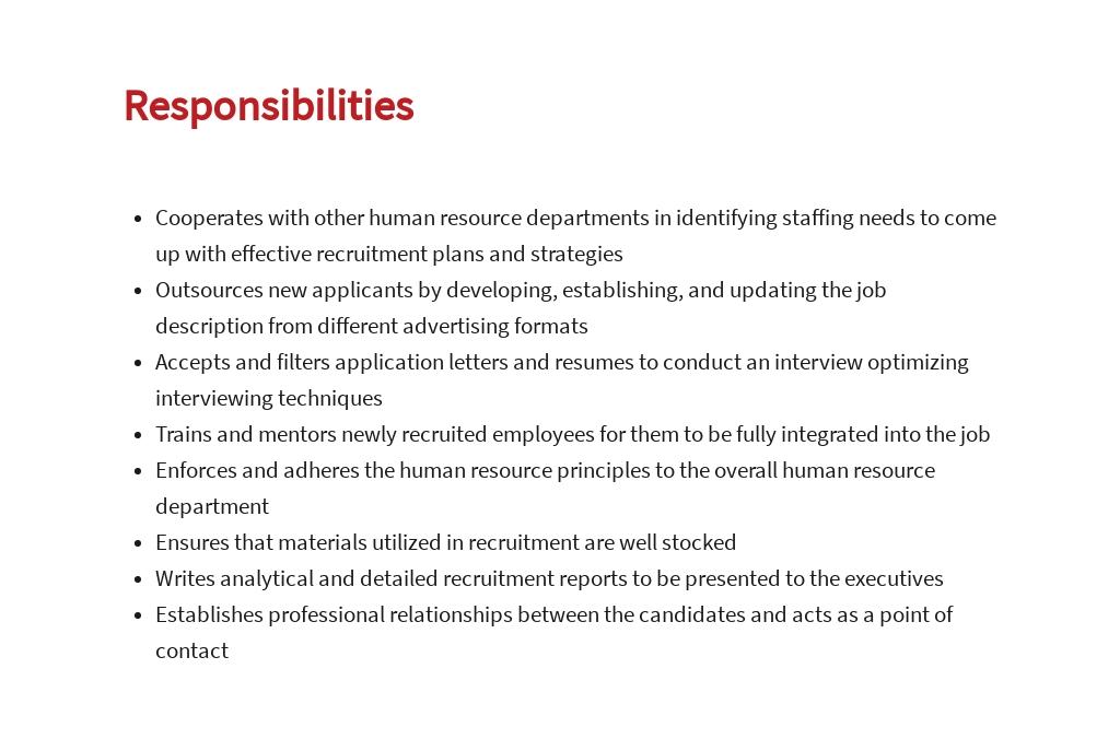 Free Job Recruiter Job Description Template 3.jpe