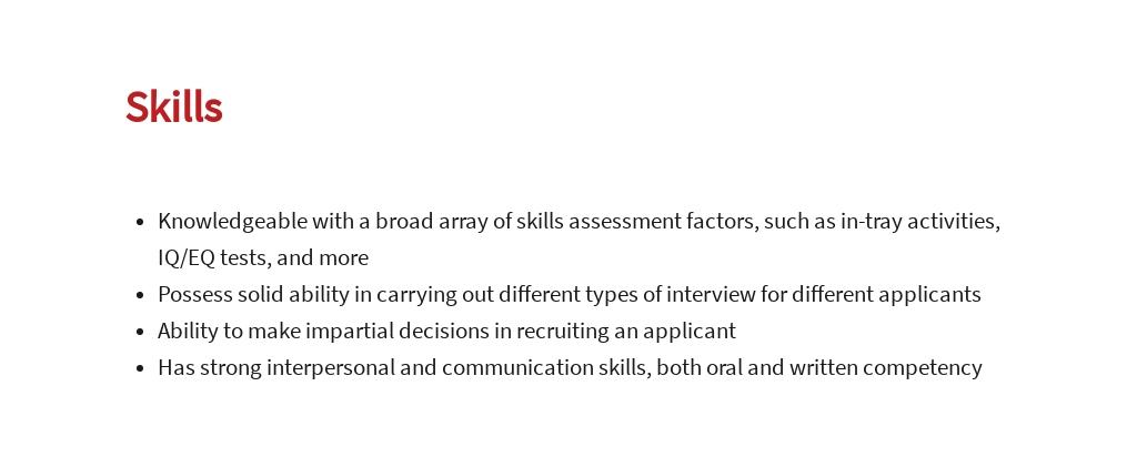 Free Job Recruiter Job Description Template 4.jpe
