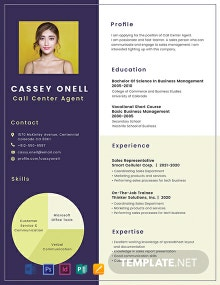 Free No Experience Call Center Resume
