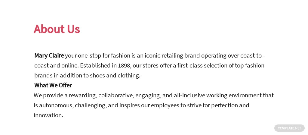 Free Fashion Sales Executive Job Ad and Description Template 1.jpe