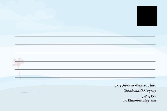Free Holiday Postcard Template 1.jpe