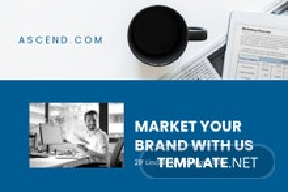 Free Marketing Postcard Template