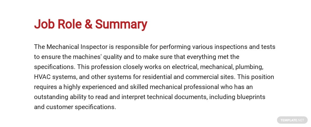 Free Mechanical Inspector Job Ad/Description Template 2.jpe