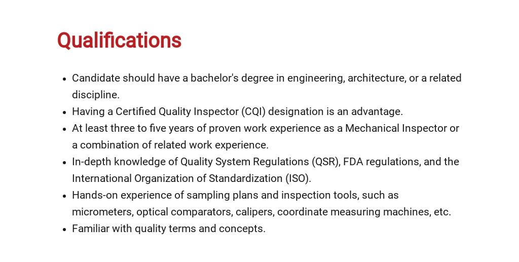 Free Mechanical Inspector Job Ad/Description Template 5.jpe