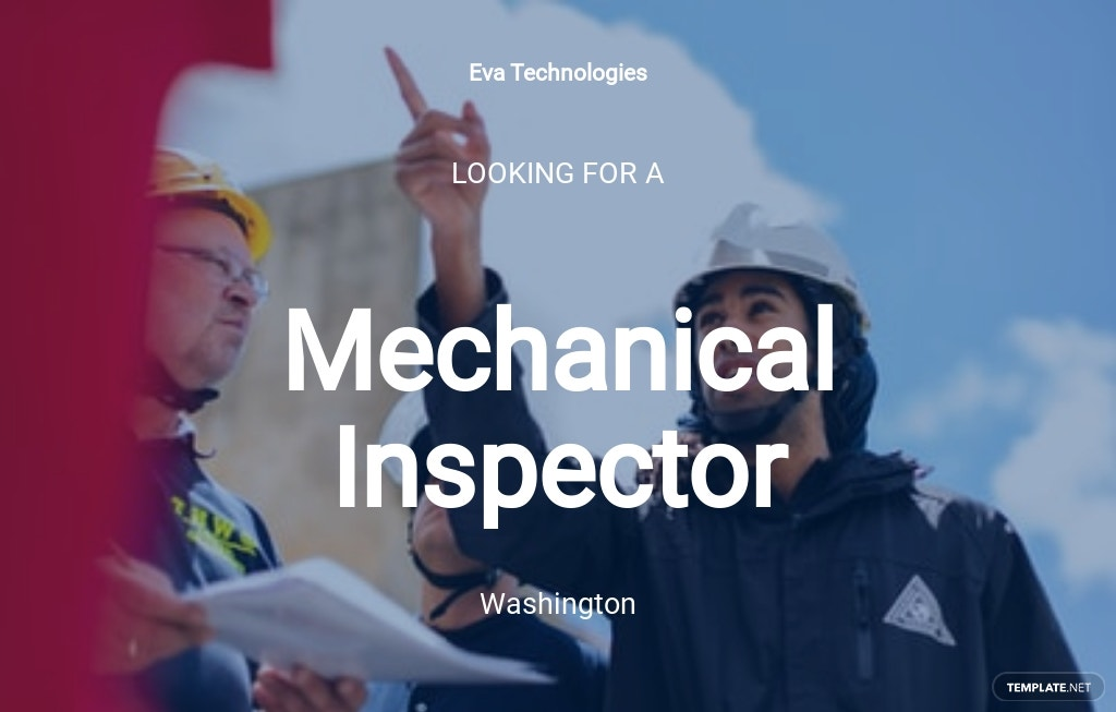 Free Mechanical Inspector Job Ad/Description Template.jpe