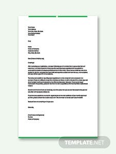 Appointment Letter for Accountant Template