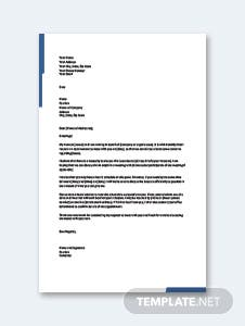 Business Meeting Appointment Letter Template