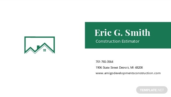 Construction Estimator Business Card Template 1.jpe