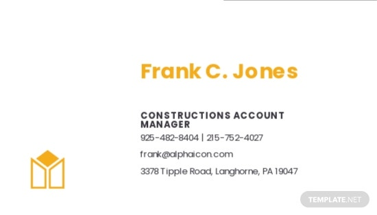 Construction Company Business Card Template 1.jpe